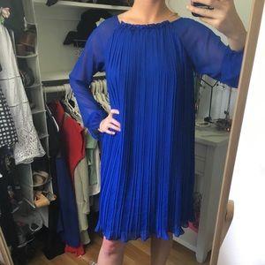 Aidan Mattox Royal Blue Sheath Dress